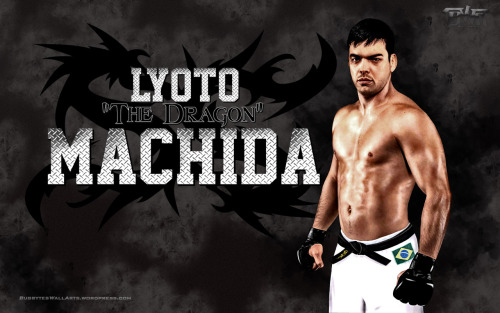 "Wallpaper of the Day: Lyoto ""The Dragon"" Machida"