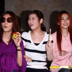 S.H.E. Celebrates Their 11th Anniversay S.H.E who made their debut on Sept 11, 2001 celebrated their 11th anniversary on Tuesday evening. The three dressed up and switched identities at the event, poking fun at each other. Ella imitated Hebe's trademark laughter while Hebe tried to mimic Selina's sweet voice. Hebe quipped, 'œIt's too hard to be sweet!' The closely-knit trio expressed that their desire to live together again for a month before releasing their next album in November. The girls had lived together in a dormitory before they shot to fame. 'œWe will help you wash your pressure garment,' Ella said to Selina, who was recovering from the 2010 burn incident. Selina, who was frustrated when she heard about her partners worrying about the future of the band, had cried uncontrollably and put the blame on herself previously. When asked how their husbands felt about them living together for a month, Selina and Ella promised that it would be fine and they even joked about letting the two husbands live together. Selina is married to Richard Chang; while Ella and Alvin Lai tied the knot in May. According to reports, the trio will be flying to Milan for their upcoming album cover photo shoot next week. This will prove to be a challenge for Selina as she would have to endure an 18-hour long flight. The girls also revealed that they have finished recording songs for their album and will meet their fans again around the end of the year.