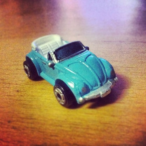 pacoinyourtaco:  Swap meet find no.2 #vw #beetle #convertible #bug #type1 #micromachine #miniature #volkswagen (Taken with Instagram at Santa Fe Springs Swap Meet)
