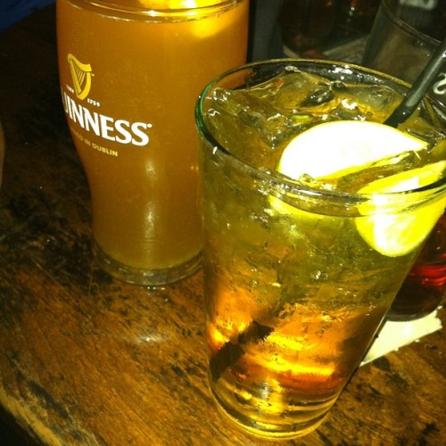 More drinking. #jameson #bluemoon #beer #alcohol #drinks #auld #dubliner  (Taken with Instagram at The Auld Dubliner)