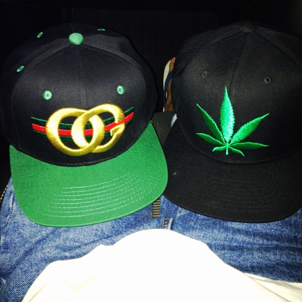 OG KUSH ! #rocksmith #dgk #snapback #pothead #highlife #swag  (Taken with Instagram)