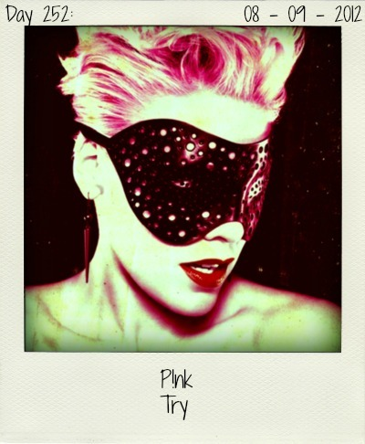 P!nk is currently dominating the airwaves with her hit single 'Blow Me (One Last Kiss)', but the singer isn't thinking of slowing down. 'Try' is her latest weapon, released off 'The Truth About Love'.