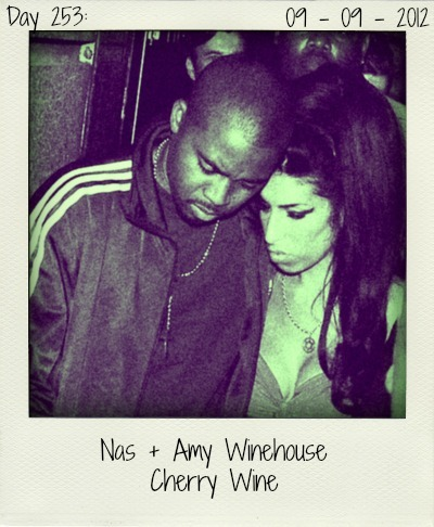 After she wrote the song 'Me & Mr. Jones' about him, Nas and Amy Winehouse became friends. The rapper and the late singer now bundle their powers on 'Cherry Wine', Nas' latest single.