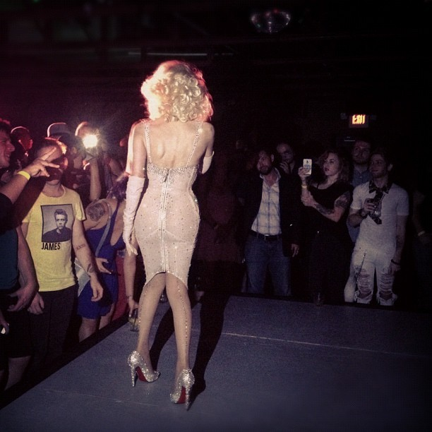 Amanda Lepore performing at It'll Do Club - Dallas TX 9/14 (Taken with Instagram)