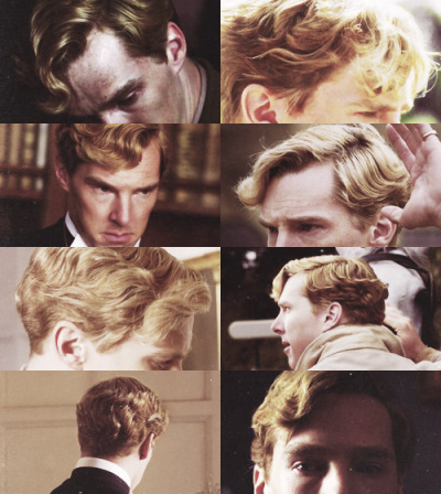 bellumperfecit:  A study in hair - Christopher Tietjens