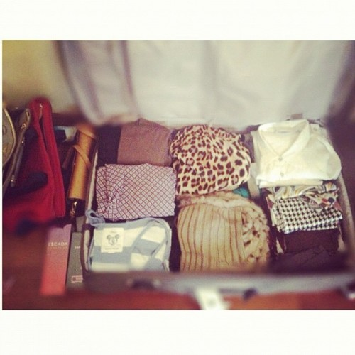 nooryqtr:  This process #ihate …… #packing. (Taken with Instagram)