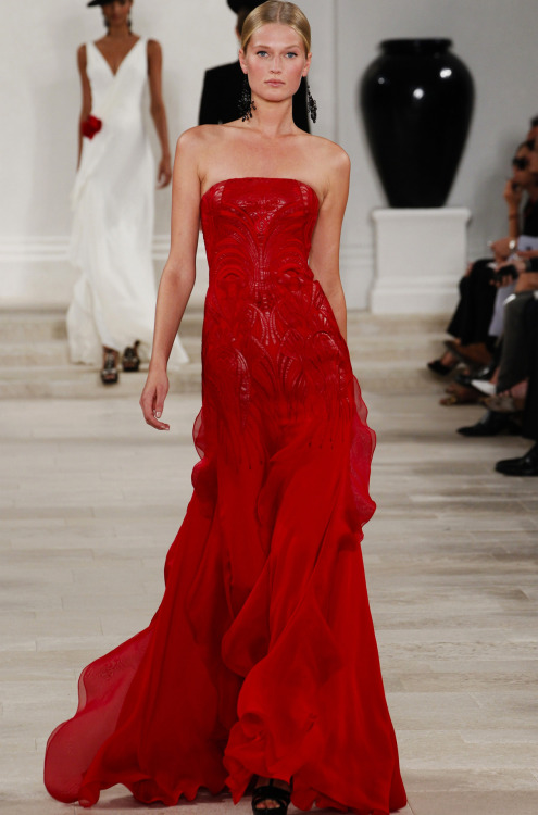 Ralph Lauren Collection Spring/Summer 2013.
