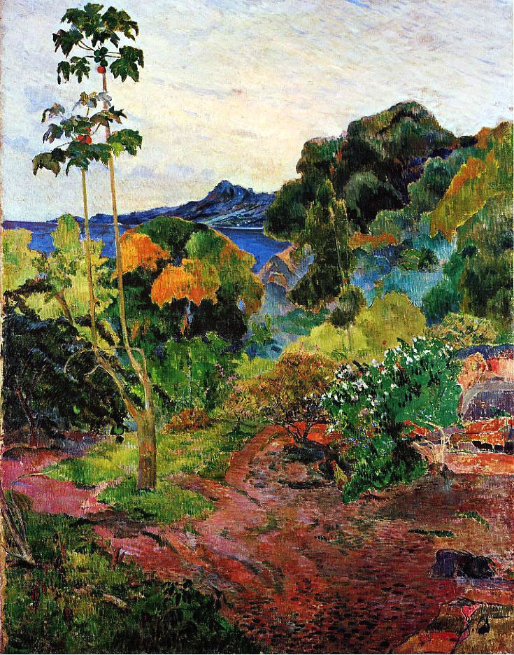 indubio:  Paul Gauguin - Vegétation Tropicale, Martinique - 1887 (by BoFransson)