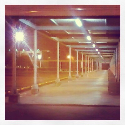 The typical 'tambayan' at SM Davao City, Parking lot. (Taken with Instagram)