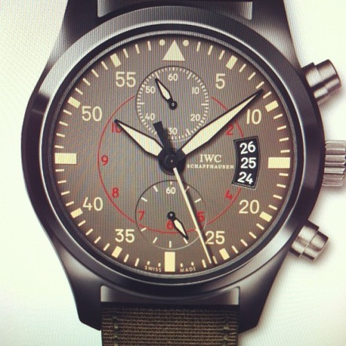 #IWC #SwissMade #Pilot #watch #time #timepieces #luxury #aviation #ontheclouds #skyhigh #style #wordintown #wordinfashion   (Taken with Instagram)