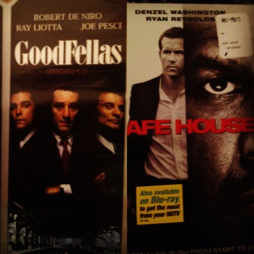 #GoodFellas #SafeHouse #dvds #movie #time #greatness  (Taken with Instagram)