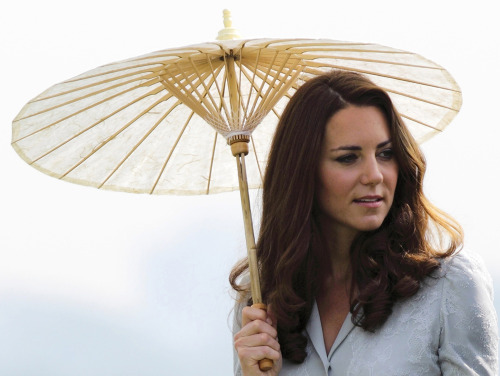"nationalpost:  Royals 'saddened' after topless Kate Middleton photos published in French tabloid CloserFrench magazine Closer unleashed a new media tornado on Britain's royal family on Friday with a five-page splash of photos showing the Duchess of Cambridge, Kate Middleton, sunbathing topless with Prince William in the south of France.""Their Royal Highnesses have been hugely saddened to learn that a French publication and a photographer have invaded their privacy in such a grotesque and totally unjustifiable manner,"" a spokesperson for St James' Palace said.Closer's editor-in-chief Laurence Pieau described the photos as a ""beautiful series"" that showed a couple in love and were in no way degrading. She said the magazine had more intimate shots from the same series that it opted not to publish. (REUTERS/Tim Chong)  A few outlets have noted that it's particularly sketch due to the situation Princess Diana faced with paparazzi. We're with that camp."