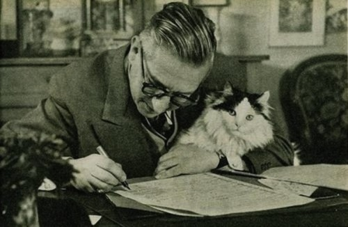 sartre and friend