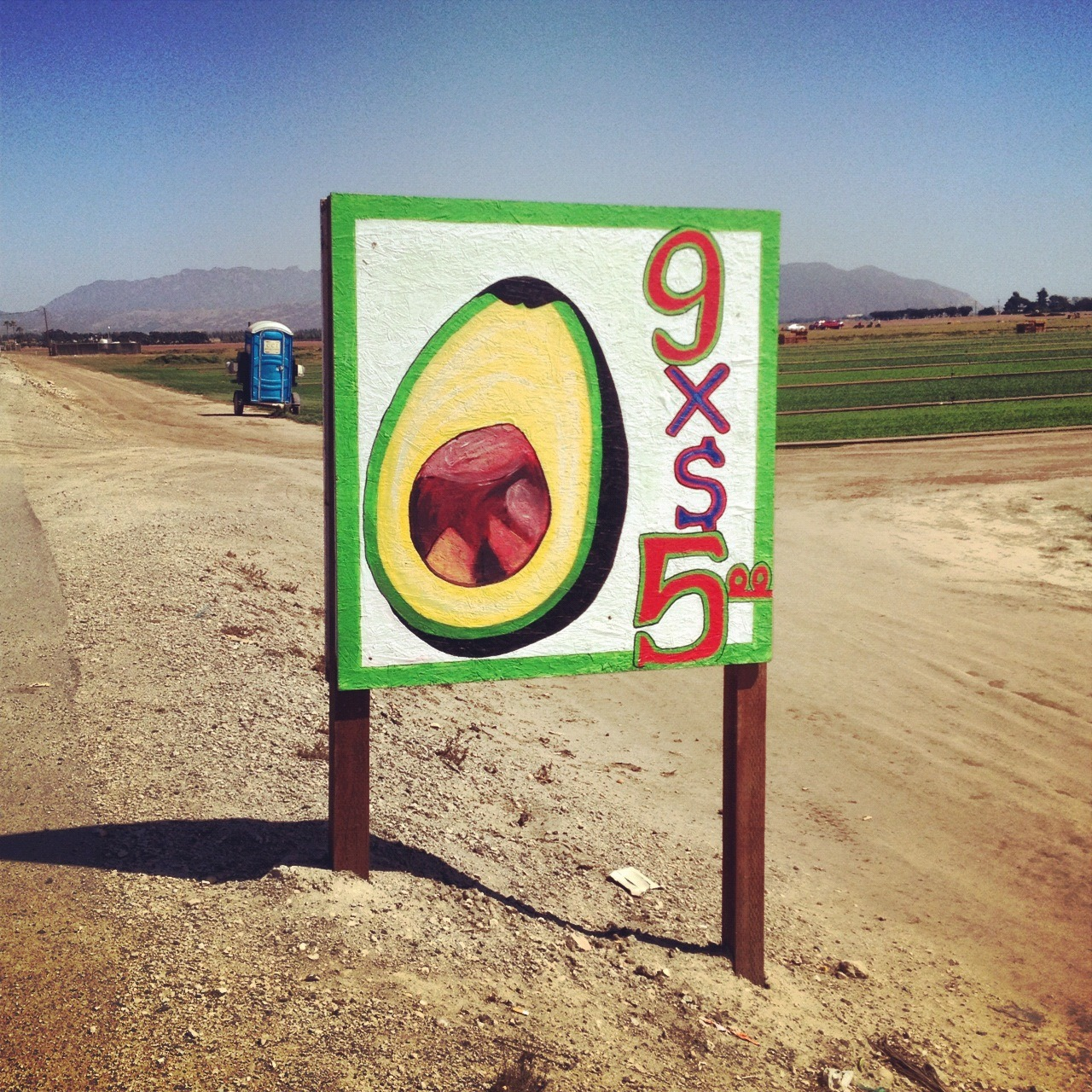 Bet avocado sign ever. 4 @kayhogan - thx 4 yr donation.