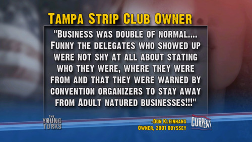 Tampa Strip Club Owner on RNC 2012