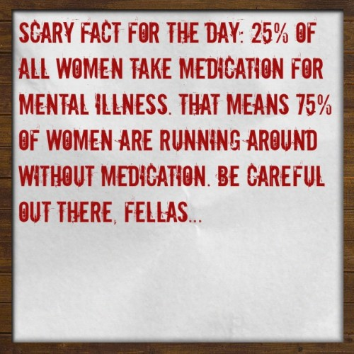 Hehe. Had to steal this and post. #scary #lol #funny #hilarious #truth #women (Made with #Tweegram App)  (Taken with Instagram at Crofton, MD)