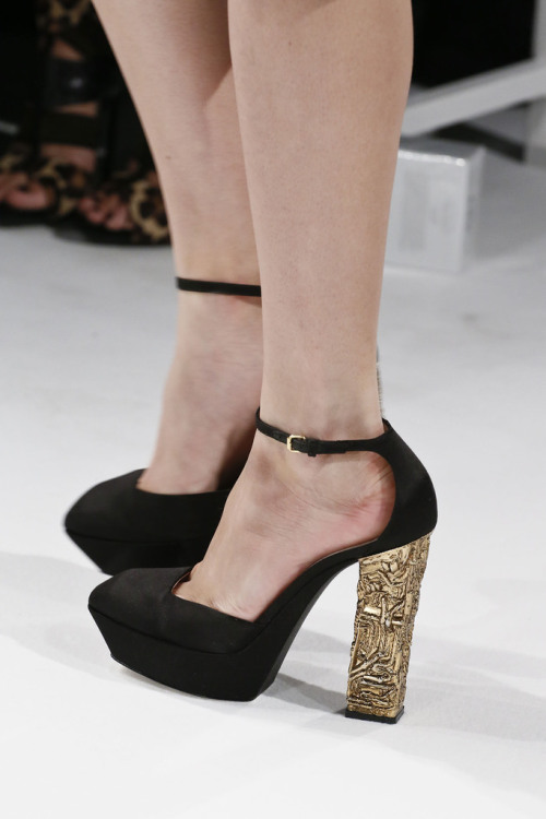 shoelust:  Calvin Klein Collection Spring 2013