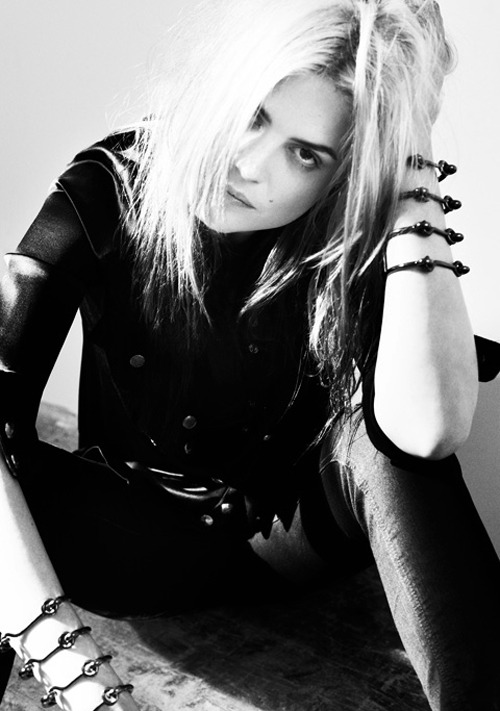Alison Mosshart photographed by Eddie Borgo, September 2012.