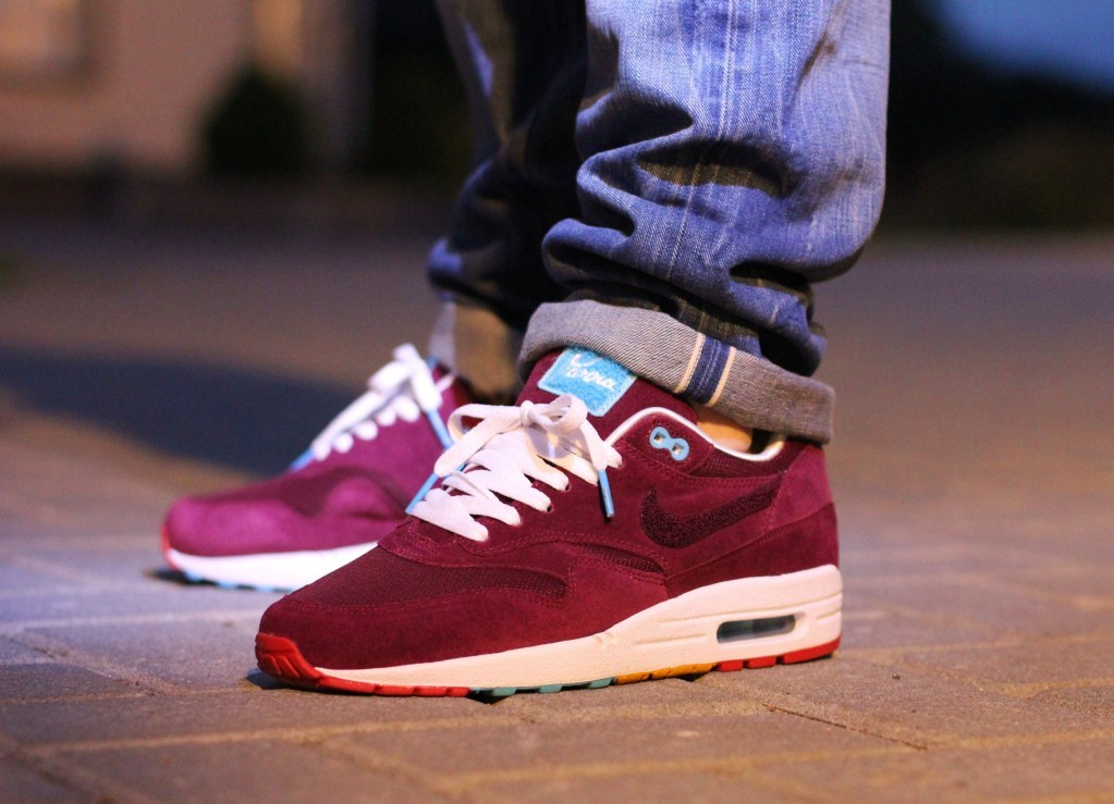 rago:  leimailemaow:  sweetsoles:  Nike Air Max 1 'Parra x Patta' (by polo)  cherrywoods - grail  such a grail