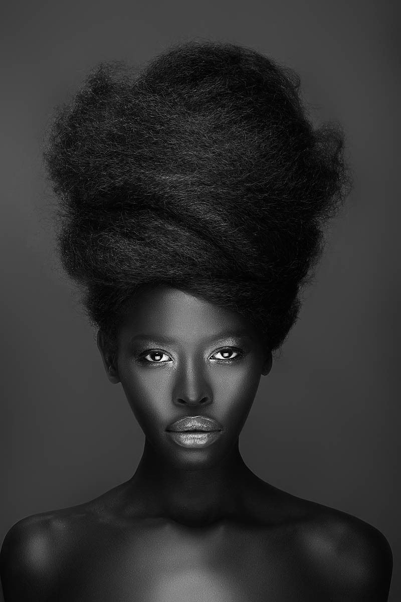 strangelycompelling:  Model - Gloria NyaegaPhotography - Adham Abou-ShehadaMua - State of FaceHair Stylist - Cassi Young-Paxton SC | SC on Facebook
