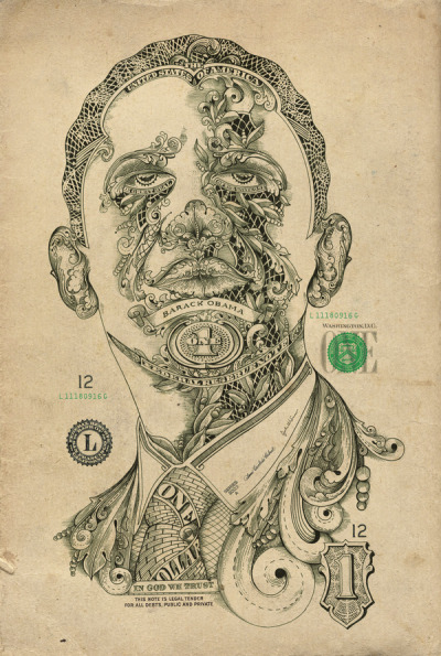 fer1972:  One Dollar Man by Design Cartel