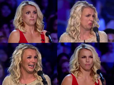 vh1:  What exactly is Britney thinking when she makes those faces on X Factor?