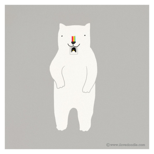 ilovedoodle:  polar-oid on Flickr. Doodle Everyday 340Website / Facebook / Twitter / Tumblr / Etsy Art print available here:www.etsy.com/listing/108925302/friends-are-the-sunshine-i…