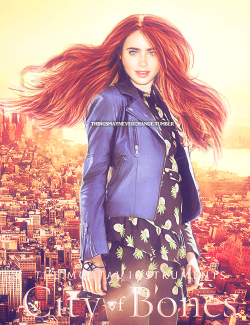 4. Clary Fray TMI Character posters(fan-made):1.Magnus Bane 2.Isabelle Lightwood  3. Jace Lightwood 5.Valentine Morgenstern