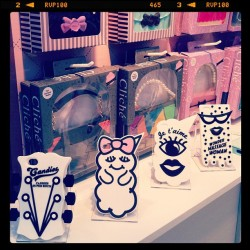 Candies phone cases launch at top drawer. Love them. (Taken with Instagram)
