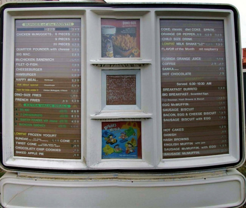 imremembering:  1993 McDonald's Drive-Thru [Flickr]