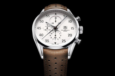 "Anchor Division » Vintage Inspired Menswear and Fashion » TAG Heuer Carrera 1887 ""SpaceX"" Watch"