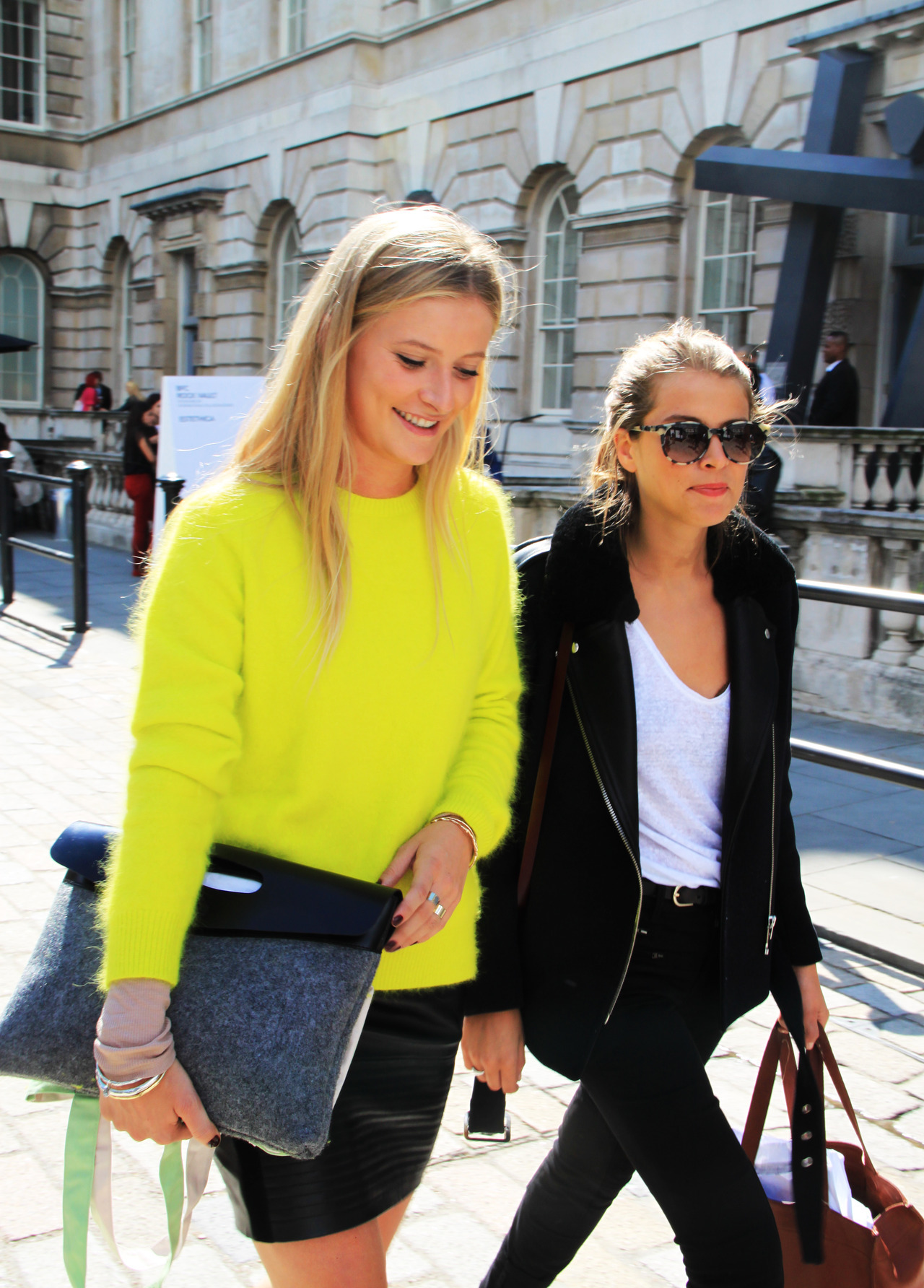 We wanted Acne's acid lime jumper. Now we need it…