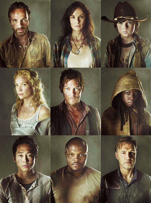 The Walking Dead Season 3 Portraits