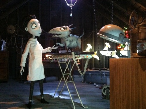Tim Burton's Frankenweenie Exhibit at Disneyland California
