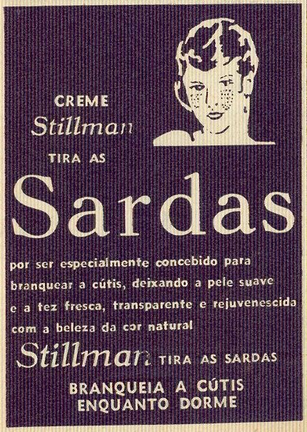 "Crónica Feminina, Nº 869, Julho 19 1973  ""Stillman Cream removes freckles  Because it's especially designed to whiten skin, leaving your skin soft and fresh, transparent and rejuvenated with its natural beautiful colour  Stillman removes freckles Whitens skin While you sleep"""