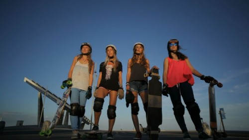 Filming Lovingsports with Josef Ajram and Longboard Girls Crew