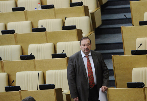 PHOTO OF THE DAY - The lawmaker and former KGB colonel Gennady Gudkov, famous for his scathing criticism and involvement in street protests against President Vladimir Putin, was stripped of his parliament seat on Friday. Source: ITAR-TASS