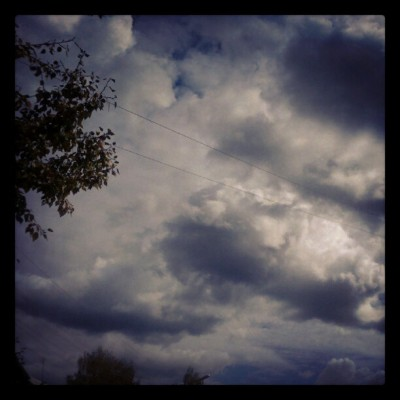 Clouds #instagram #tumblr #autumn (Taken with Instagram)