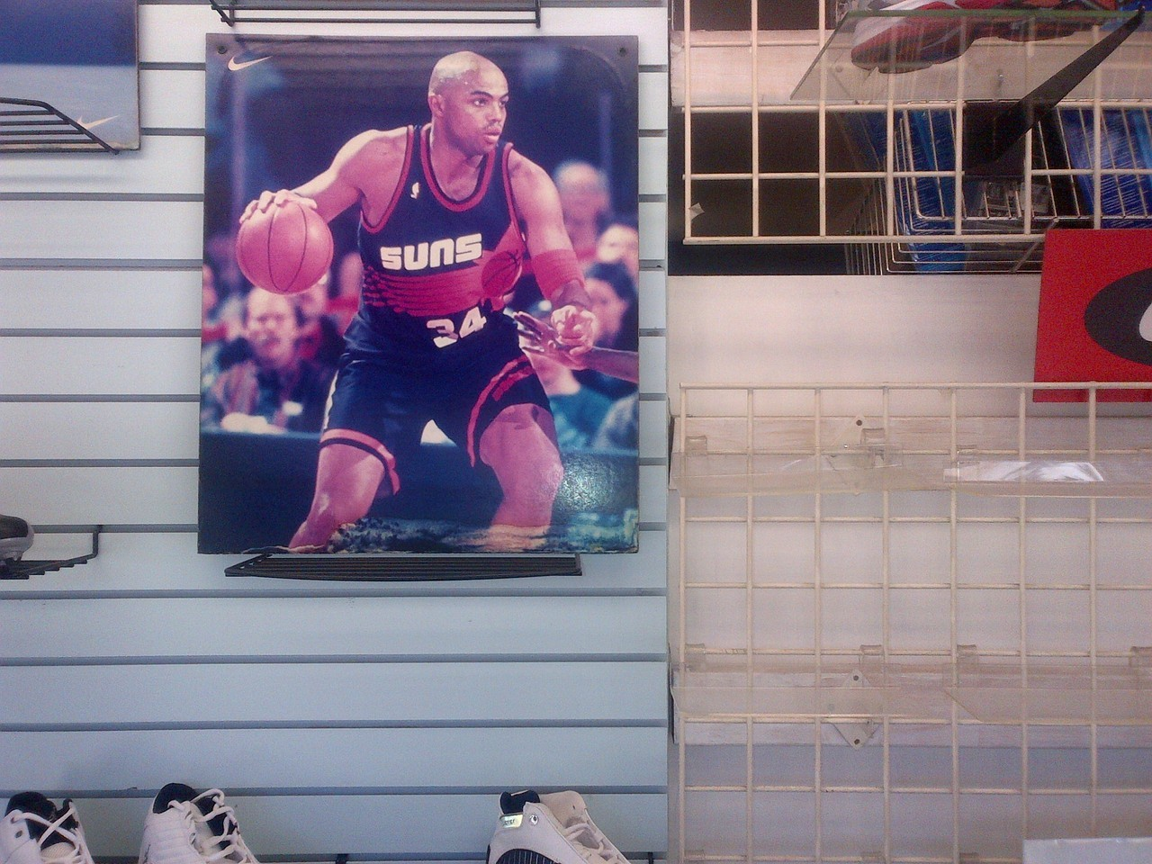 With all these sneaker advertisements online you often forget how depressing actual shoe stores often are