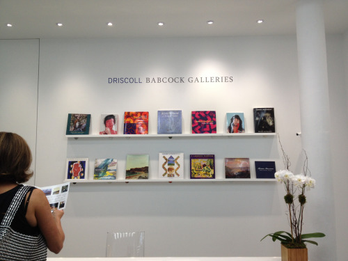 New location of Driscoll Babcock Galleries now open in Chelsea. 525 W 25th street.