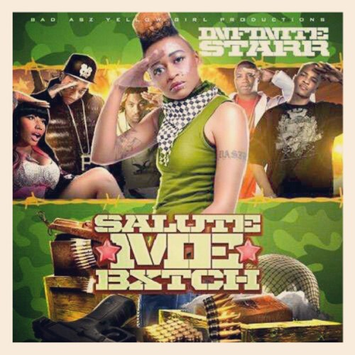 Look at what I just started working on :) #SaluteMeBxtch  Coming Soon on www.infiniteStarr.com