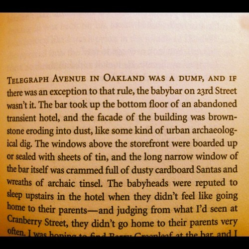 The hood, in print. #oakland #books (Taken with Instagram)