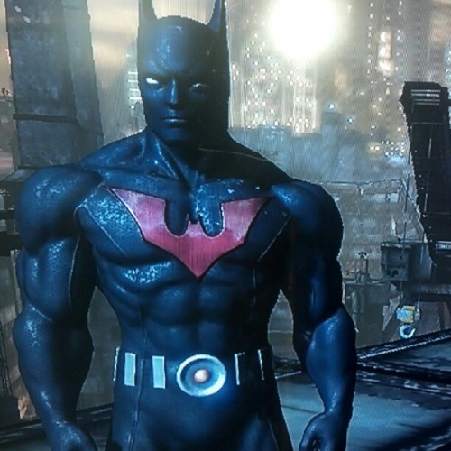 Playing Arkham City as Batman Beyond! Whats good! #batman #arkhamcity #batmanbeyond #brucewayne #dc #dccomics  (Taken with Instagram)