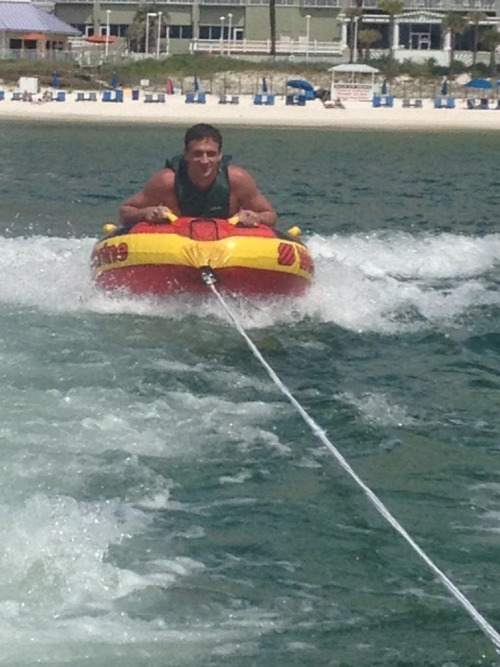jeahreezylovin:  @eswright: Ryan is back in the water! having some fun in Panama City while helping raise money for the Mac Crutchfield Foundation http://t.co/f0yLscpS At least he's in the water