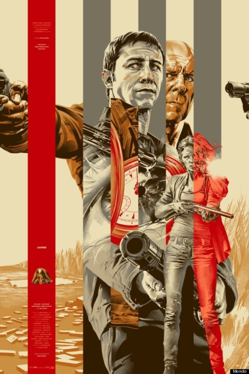 Cool new Looper prints from MONDO Posters.