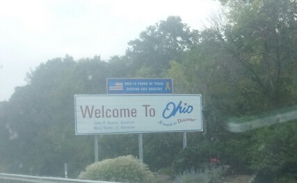 Heading into Ohio, w/ 6 events and lits of reporting to do…check schedule at http://tour.democracynow.org #SilencedMajority