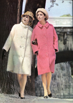 moda - 1964 - mantello lana mohair e mantello redingote by sonobugiardo on Flickr.