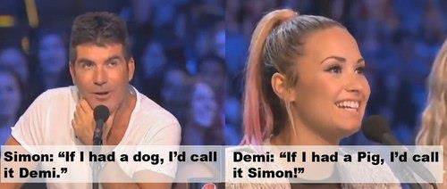 Simon and Demi xD ♥ Ask me a question here: http://ask.fm/AllAboutCelebri