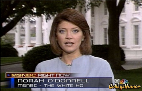 "Reporter Labeled ""White Ho"" Norah O'Donnell seems to have a bit of a reputation."