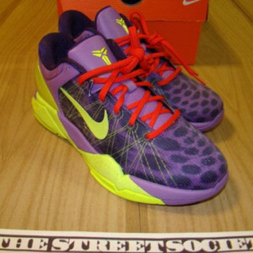 #kobe #cheetah #kb7 ladies sz 7.5 ! #deadstock buy here -> http://shop.thestreetsociety.com/product/nike-zoom-kobe-vi-cheetah-2011-size-6y-7-5w (Taken with Instagram)